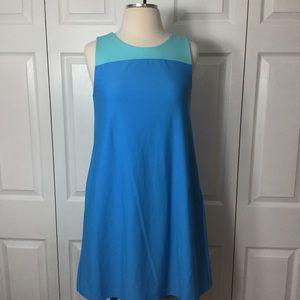 Jude Connally Blue Sleeveless Dress
